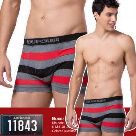 art-11843-pack-x12-o-x3-boxer-corto-algodon-tricolor-sin-costura