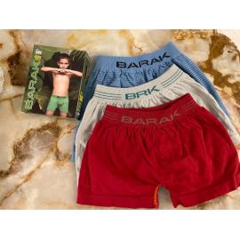 Boxer de niño algodon sin costura